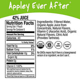Honest Kids Appley Ever After Apple Organic Fruit Juice Drink, 6.75 fl oz, 8 Pack (Pack of 4)