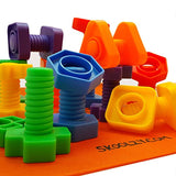 Skoolzy Nuts and Bolts Fine Motor Skills - Occupational Therapy Toddler Toys