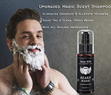 Beard Kit for Men Beard Growth Grooming & Trimming with Unscented Leave-in Conditioner Oil, Balm Butter Wax & More