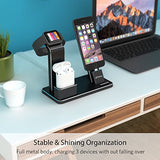 Charging Stand for Apple Watch Aluminum Watch Charging Stand Dock Holder Compatible for iWatch Apple Watch Series