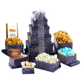 Broadway Basketeers Chocolates & Sweets Classic 6 Box Gift Tower
