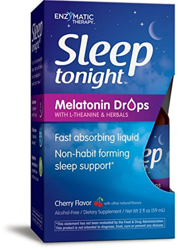 Sleep Tonight Melatonin Drops