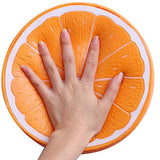 Outee 10 Inch Jumbo Orange Squishies Big Slow Rising Orange squishies Scented Kawaii Stress Relief Squishies Squeeze Toys for Kids Adults