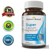 Pure Calcium Magnesium Vitamin D3 Cholecalciferol - Best Bone Support Supplement - Healthy Teeth - Strong Muscles For Women & Men