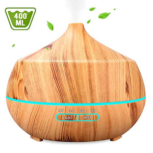 Aromatherapy Essential Oil Diffuser 400ML, INSMART Ultrasonic Cool Mist Humidifier