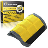 Magnelex Best Magnetic Wristband for Holding Tools, Screws, Nails, Bolts, Drilling Bits.