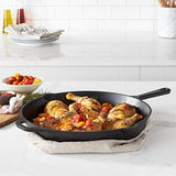 AmazonBasics Pre-Seasoned Cast Iron Skillet Pan