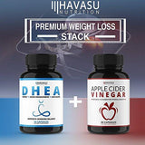 Havasu Nutrition Extra Strength Apple Cider Vinegar Pills - Natural Weight Loss, Detox, Digestion - Powerful 500mg Cleanser