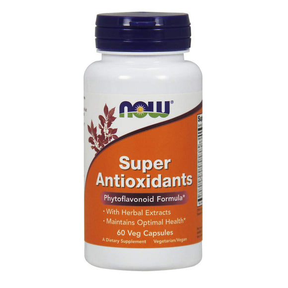 NOW Supplements, Super Antioxidants with Herbal Extracts and a Broad Spectrum of Flavonoids