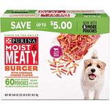 Purina Moist & Meaty Dog Food, Burger (6 oz., 60 ct.)