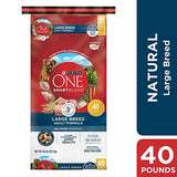 Purina ONE SmartBlend Natural Large Breed Formula