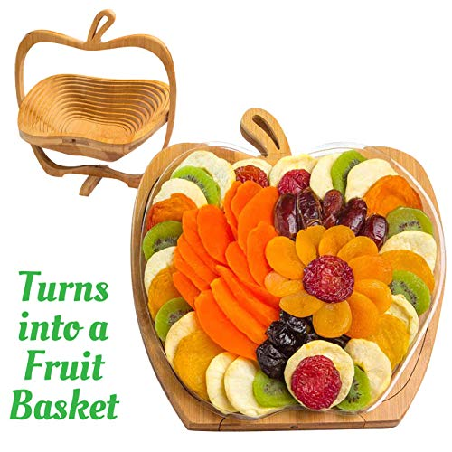 Dried Fruit Gift Basket - Healthy Gourmet Food - Vegan, Kosher, Gluten-Free Gift Box