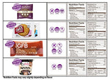 High Protein Snacks Fitness Box: Mix of Natural Gourmet Healthy Snacks, Bars, Cookies, On The Go Energy Snacks Premium Care Package Gift Box