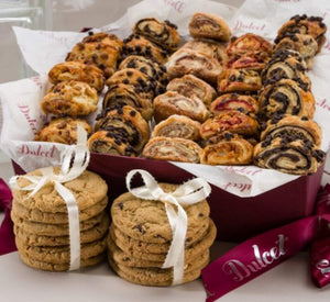 Dulcet Gift Basket Sweet Success Gourmet Cookie Snacks ideal Gift Basket For Men & Women, Birthday, Get Well Corporate Baskets