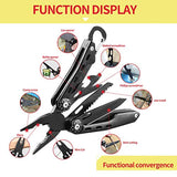 Multitool knife Foldable Pocket Pliers - APAX Stainless Steel Home Holding Outdoor Camping Survival Hunt Portable Tools Kit