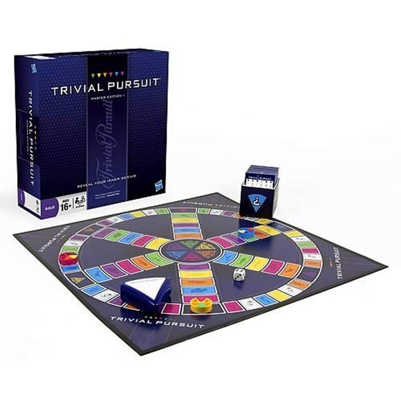 Hasbro Gaming Trivial Pursuit Master Edition Trivia Board Game