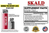 SKALD First Fat Burner Pills with Respiratory Support - Best Weight Loss Supplements for Men and Women (60 Capsules)