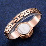 Watch Bangles Bracelet Set for Women Rose Gold Tone 3 Pieces