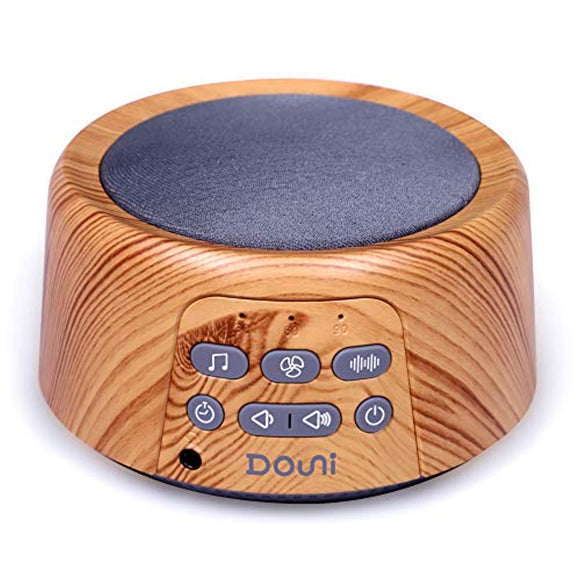 Douni Sleep Sound Machine - White Noise Machine with 24 Non-Looping Soothing Sounds for Sleeping & Relaxation