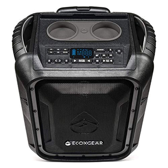 ECOXGEAR EcoBoulder+ GDI-EXBLD810 Rugged Waterproof Floating Portable Bluetooth Wireless