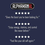 AlphaMAN XL Male Pills Enlargement Booster Increases Energy, Mood & Endurance Best Performance Supplement for Men - 1 Month Supply, 60 Capsules