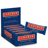 Larabar Gluten Free Bar, Blueberry Muffin, 1.6 oz Bars (16 Count)