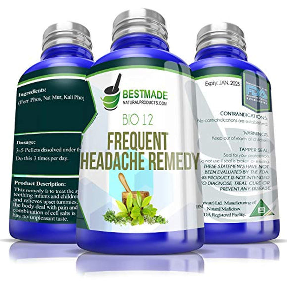 Frequent Headache Remedy Bio12, 300 pellets