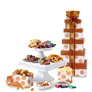 Broadway Basketeers Gourmet Chocolate Gift Tower