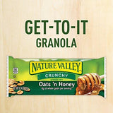 Nature Valley Granola Bars, Crunchy, Oats 'n Honey, 17.88 Ounce (Pack of 3)