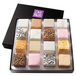 Oh! Nuts Gourmet Handmade Marshmallow Gift Box, 16 Artisan Sweet Treats for gift