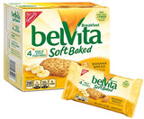 belVita Soft Baked Breakfast Biscuits, Banana Bread, 8.8 Ounce (Pack of 6)