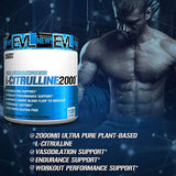 Evlution Nutrition L-Citrulline2000 | Ultra-Pure Plant-Based Citrulline Powder Supplement | Enhance Muscle Strength & Vascularity