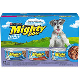 Purina Mighty Dog in Gravy Wet Dog Food Variety Pack