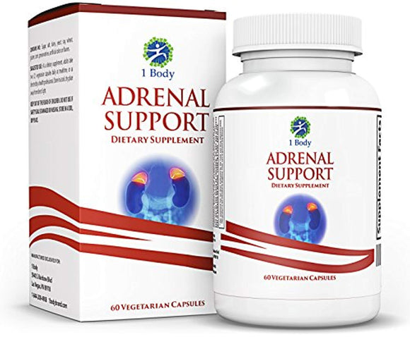 Adrenal Support - Cortisol Manager - A complex formula containing Rhodiola Rosea, Vitamin B12, B5, B6