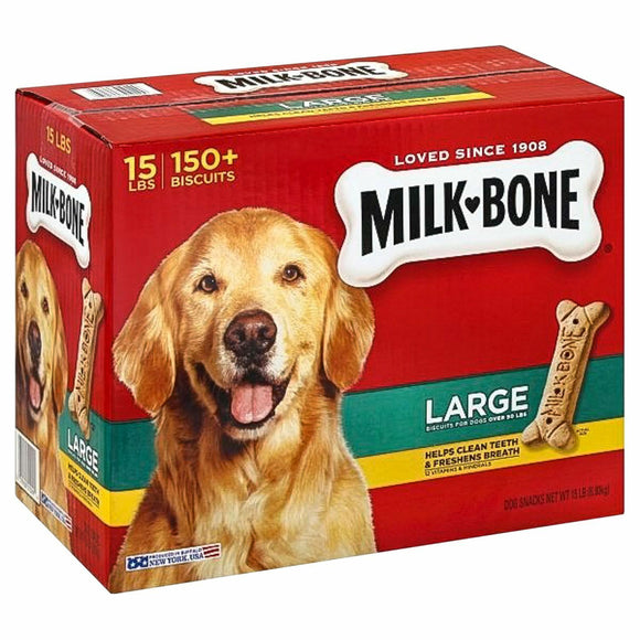Milk-Bone Dog Biscuits, Large (15 lbs.) FREE SHIPPING