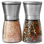 Salt and Pepper Grinder Set - Salt and Pepper Shakers for Professional Chef -