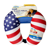 Cloudz Patterned Microbead Travel Neck Pillow