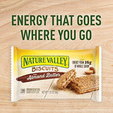 Nature Valley Biscuits, Almond Butter, 1.35 Oz, 5 Count (Pack of 4)
