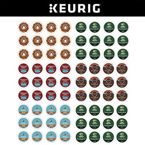 Keurig Variety Pack, Single Serve Coffee K-Cup Pod, Variety, 72