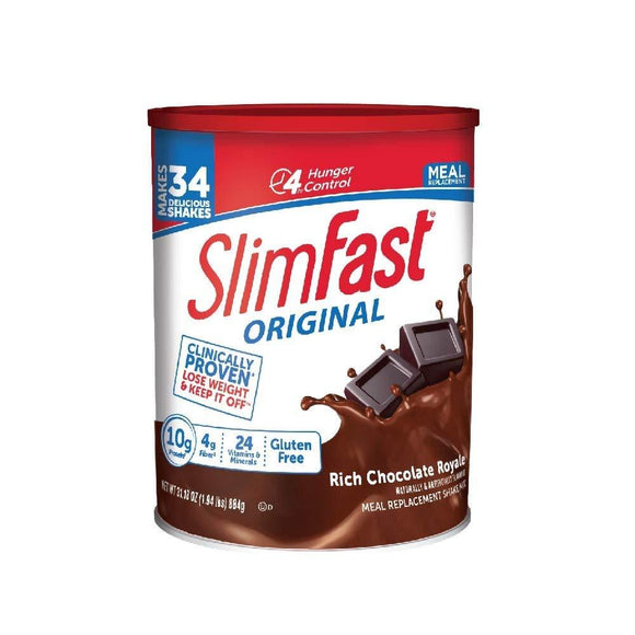 SlimFast – Original Meal Replacement Shake Mix Powder – Weight Loss Shake – 10g of Protein – 24 Vitamins and Minerals Per Servin