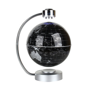 Floating Globe, Office Desk Display Magnetic Levitating and Rotating Planet Earth Globe Ball with World Map