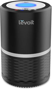 LEVOIT Air Purifier for Home Smokers Allergies and Pets Hair, True HEPA Filter, Quiet in Bedroom