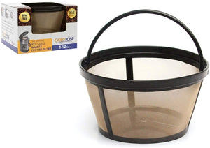 GoldTone Brand 8-12 Cup Permanent Mr. Coffee Basket-Style Coffee Filter & Set