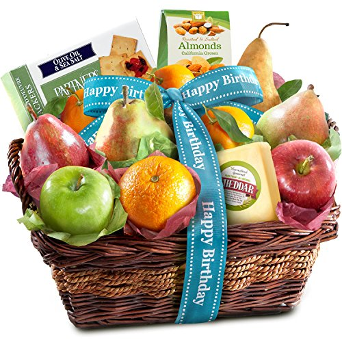 Birthday Classic Gourmet Fruit Basket Gift