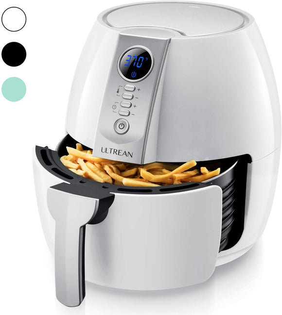 Ultrean Air Fryer, 4.2 Quart (4 Liter) Electric Hot Air Fryers Oven Oilless Cooker