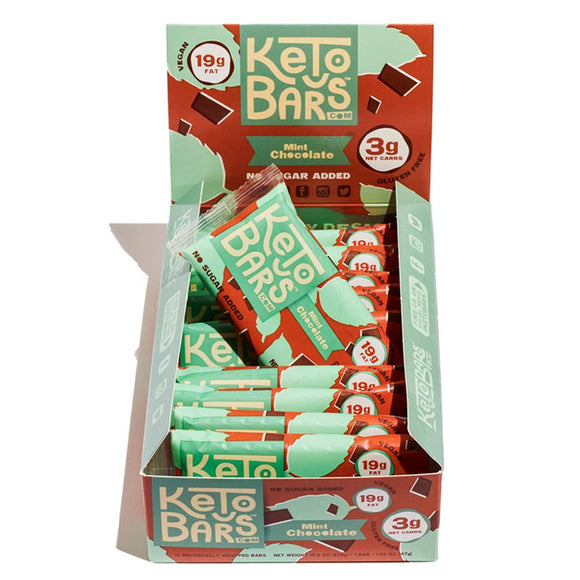 Keto Bars! The Original High Fat, Low Carb, Ketogenic Bar. Gluten Free, Vegan, Homemade with simple ingredients.10 Pack]