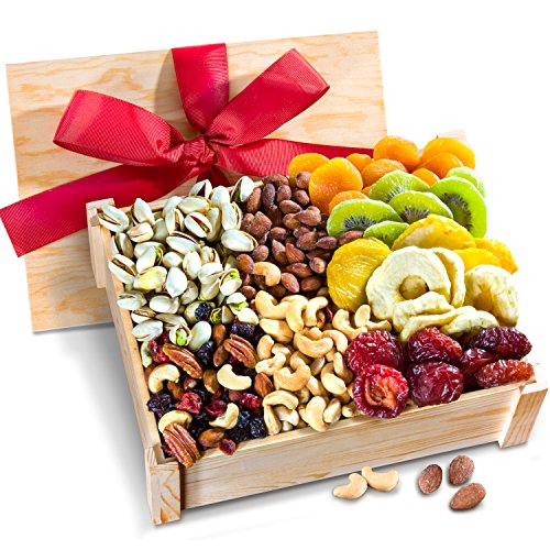 Golden State Fruit Healthy Abundance Dried Fruit & Nuts Gift Crate
