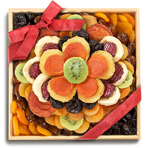 Golden State Fruit Sweet Bloom Dried Fruit Deluxe Basket
