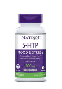 Natrol 5-htp Time Release Tablets, 200mg