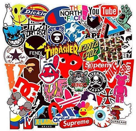 Street Fashion Sticker Decals